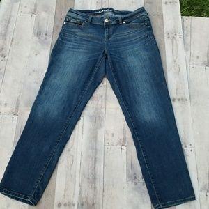 inc Denim Skinny Leg Curvy Fit Jeans
